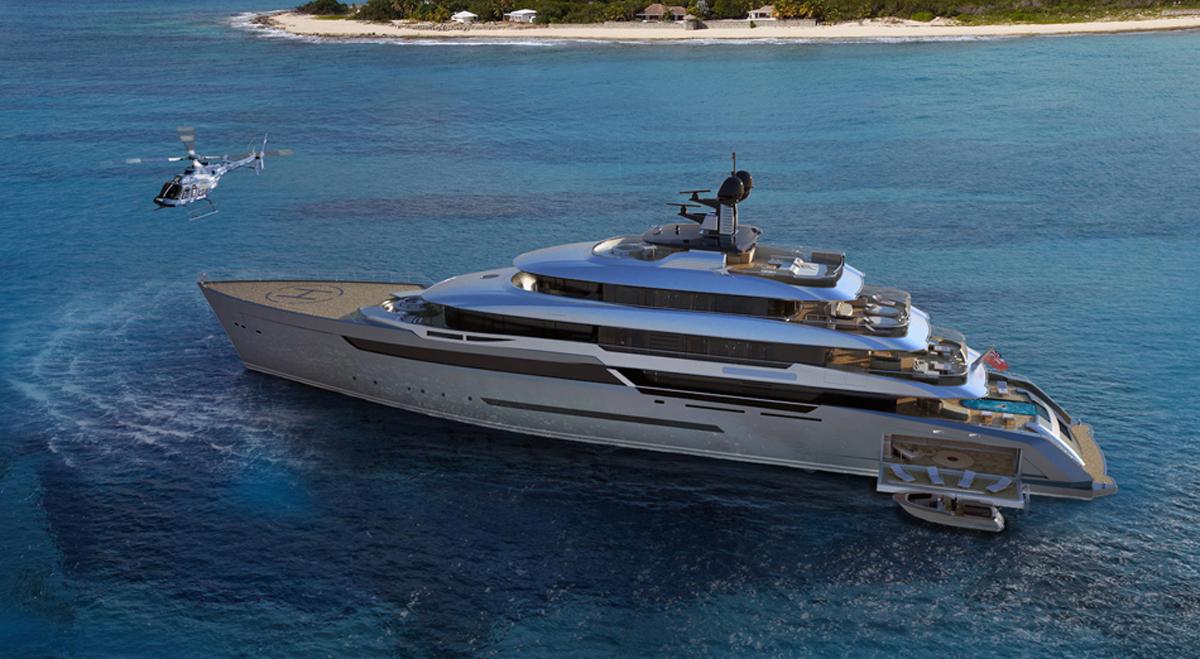 70mt motor yacht Image 1 main image